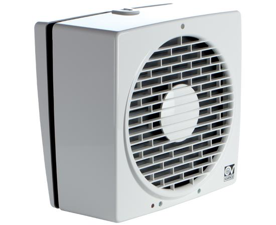 Реверсивный вентилятор Vortice Vario 150/6 AR, накладной с жалюзи